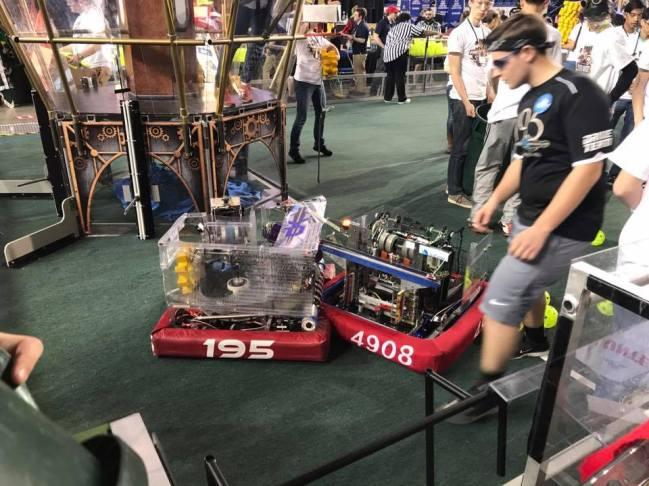 Stuck Robots