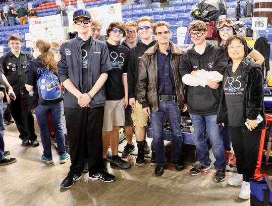 Team and Dean Kamen